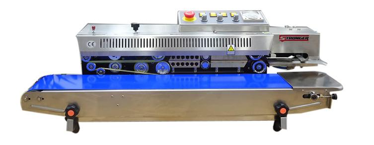 Thiết kế máy hàn miệng túi liên tục có in date Stronger FRBM-810I