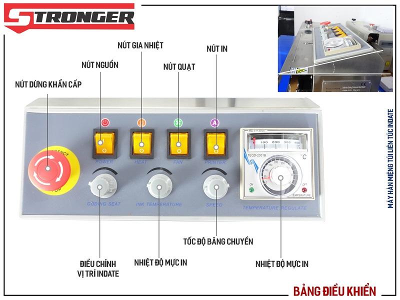 Hình ảnh bảng điều khiển