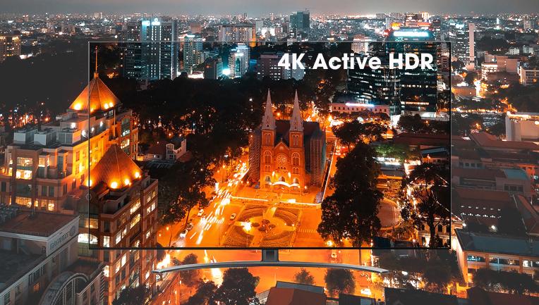 Công nghệ 4K Active HDR