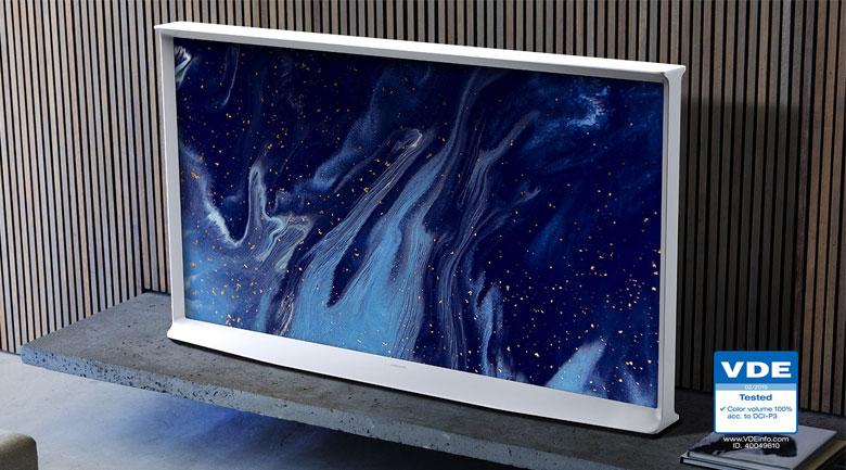 Samsung QA55LS01TAKXXV thiết kế mới