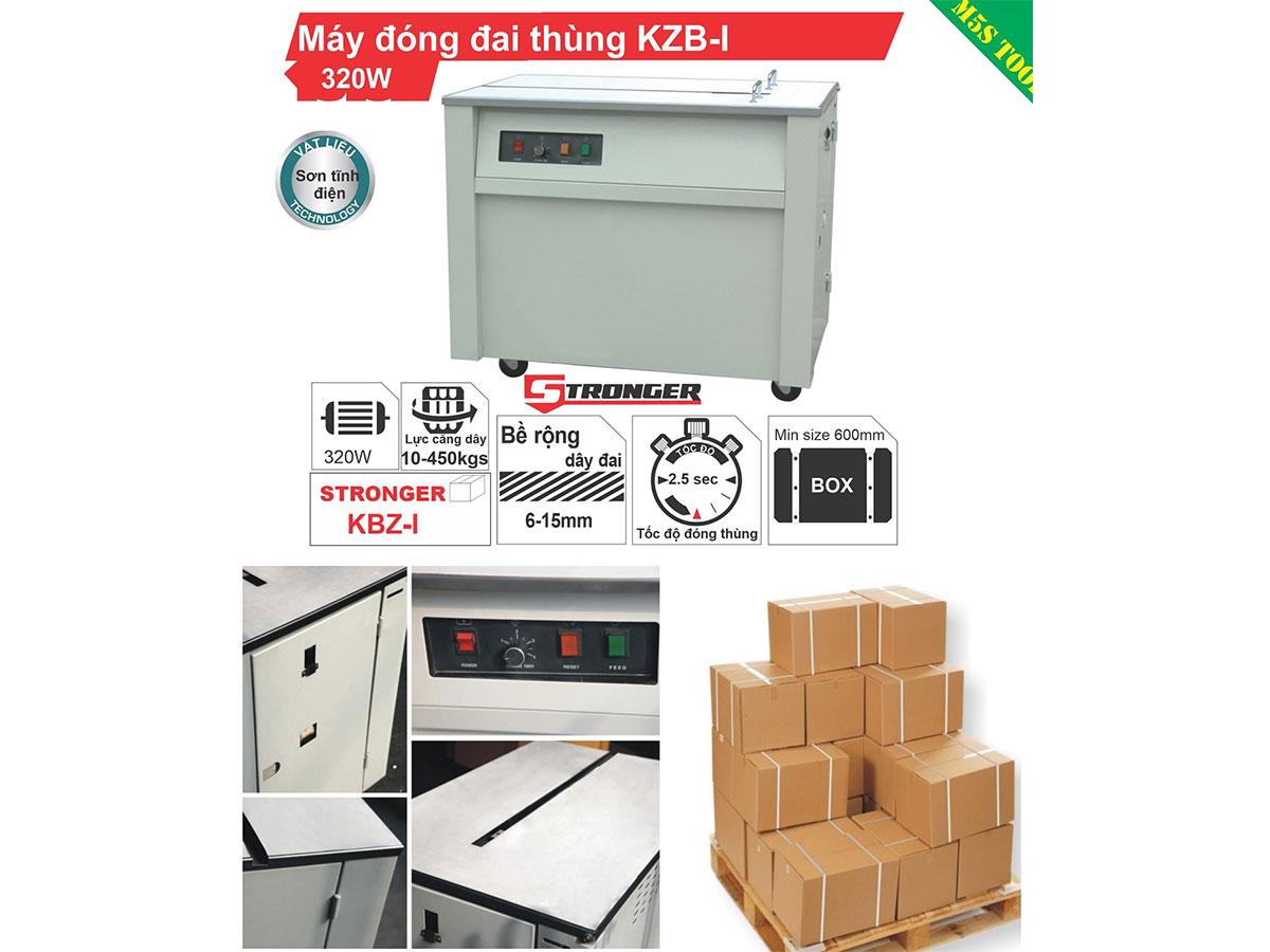 Máy đóng đai thùng Stronger KZB-1