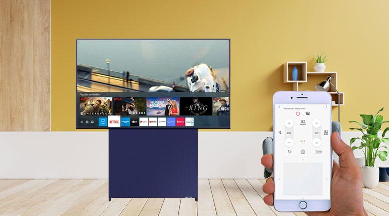 Tivi điều khiển bằng điện thoại