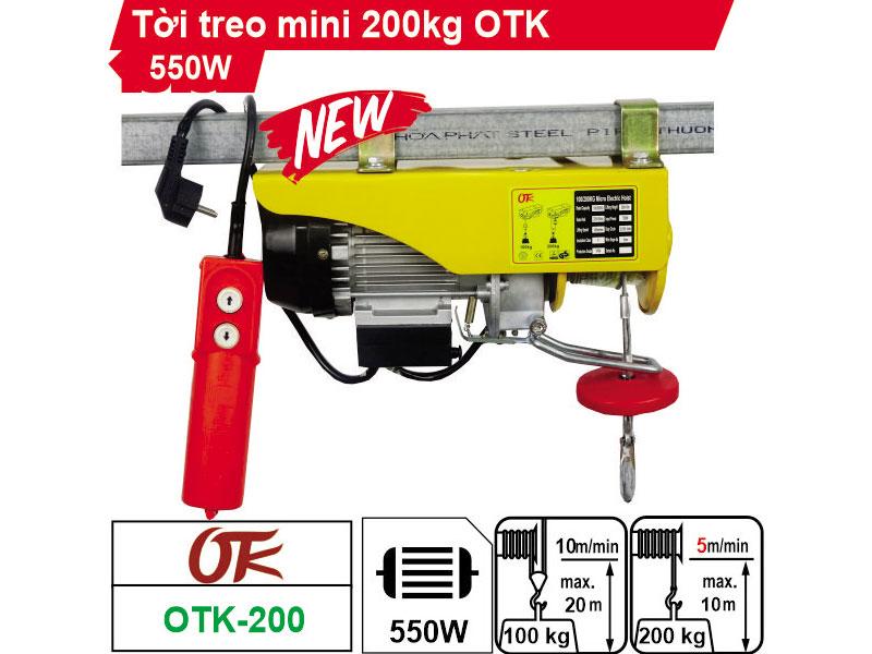 Tời điện OTK PA200