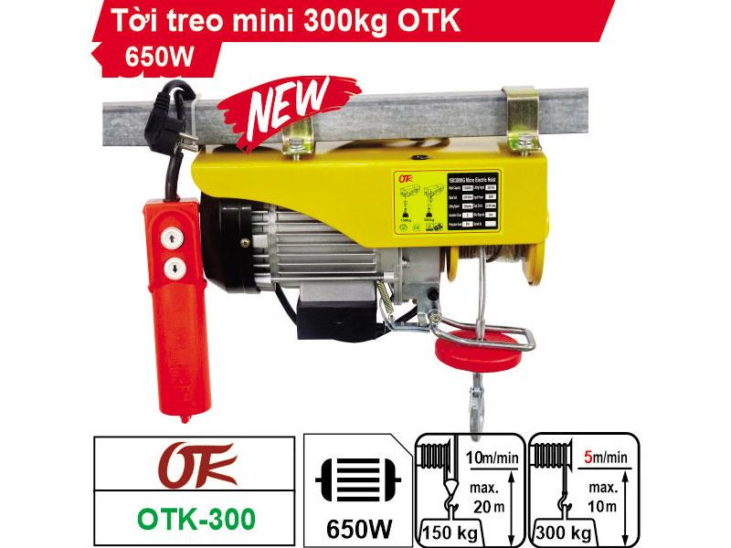 Tời điện OTK PA300