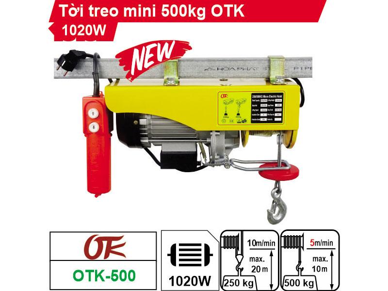 Tời điện OTK PA500