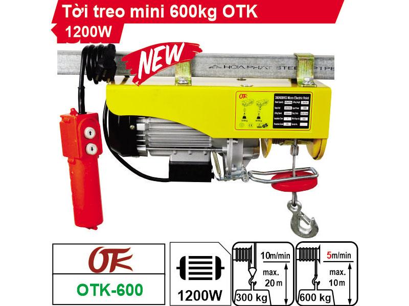 Tời điện OTK PA600