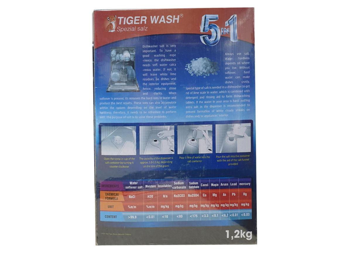 Muối rửa bát Tiger Wash 1,2kg