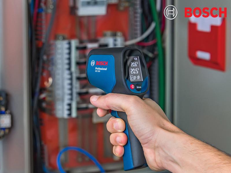 Máy đo nhiệt độ Bosch GIS 500 thiết kế nhỏ gọn