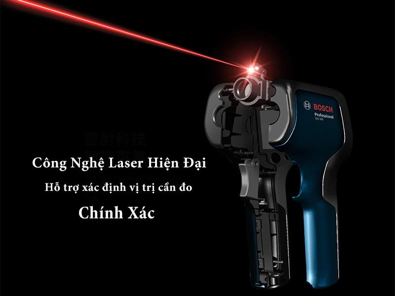 Công nghệ laser của súng đo nhiệt