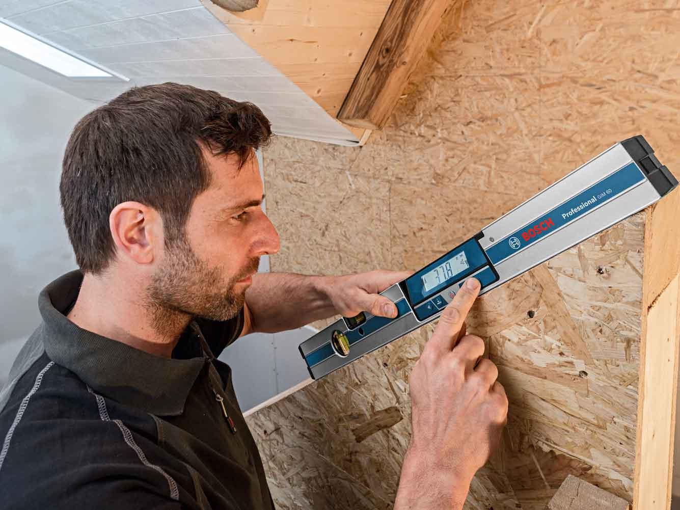 Thước đo độ nghiêng kỹ thuật số Bosch