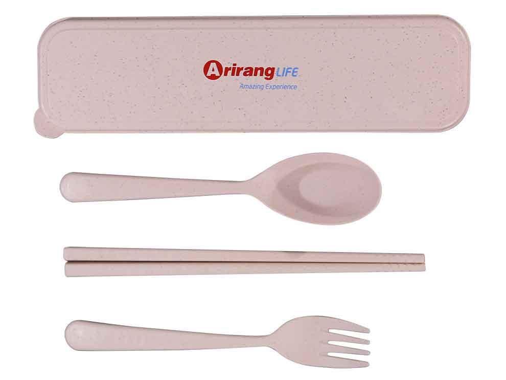 Bộ muỗng nĩa đũa lúa mạch