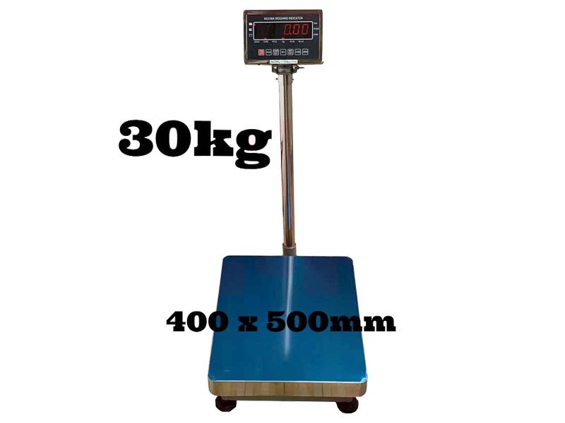 Tải trong cân tối đa 30kg, tối thiểu 0,1kg