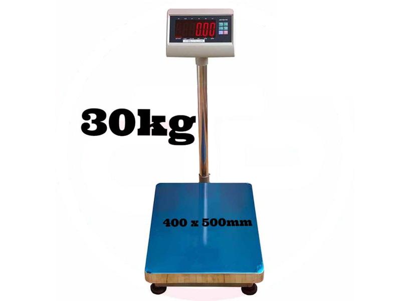Cân tối đa 30kg, tối thiểu là 0,1kg