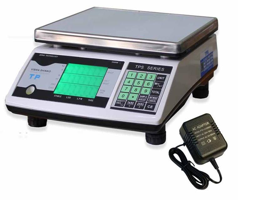 Hình ảnh cân điện tử 15kg/0.5g Vibra Shinko TPSC-15