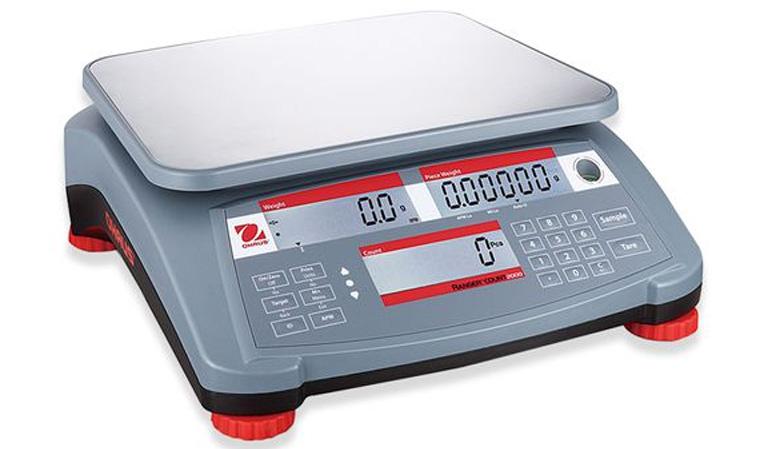Cân điện tử đếm số lượng 3kg/0.1g Ohaus RC21P3