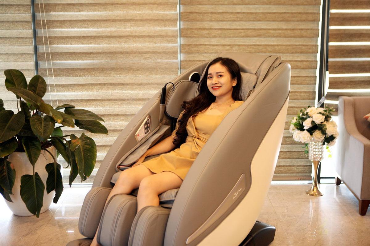 Chức năng ghế massage Royal R888I