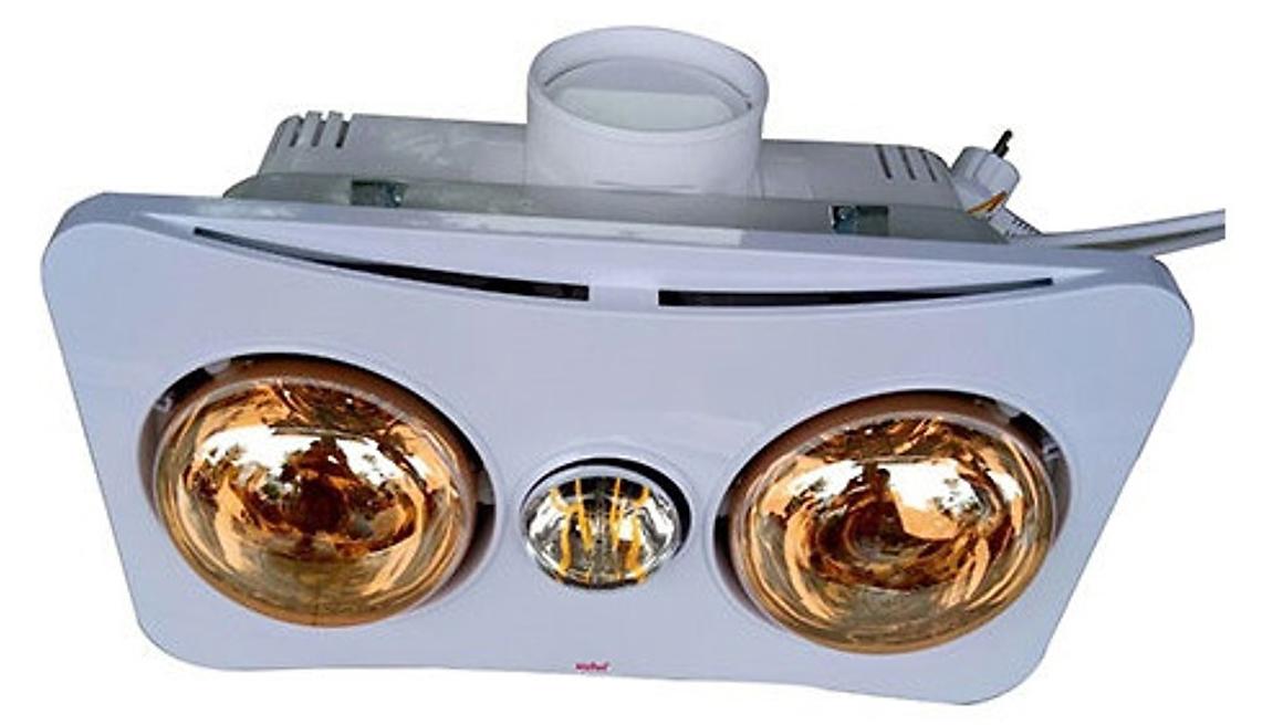 Đèn sưởi nhà tắm Braun Kohn BK02GR