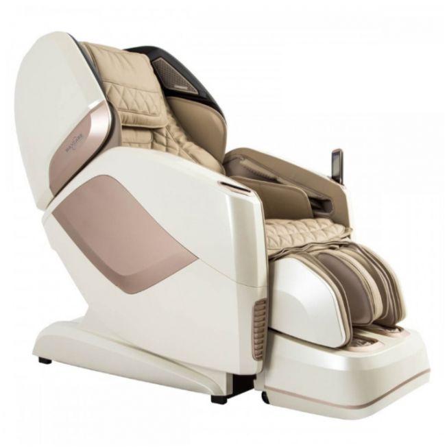 Ghế massage màu kem