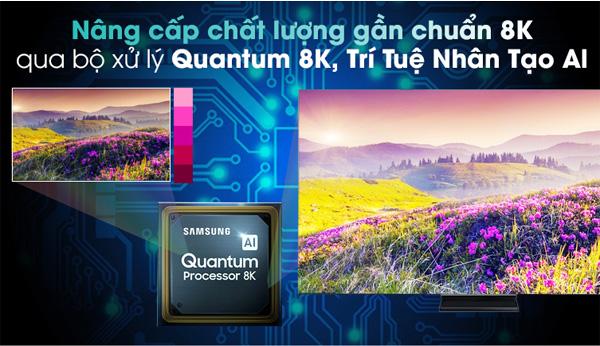 Ứng dụng bộ xử lý Quantum 8K, trí tuệ nhân tạo Al