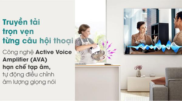 công nghệ Active Voice Amplifier bỏ qua mọi tiếng ồn