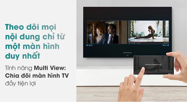 Chế độ chia đôi màn hình tivi mới lạ