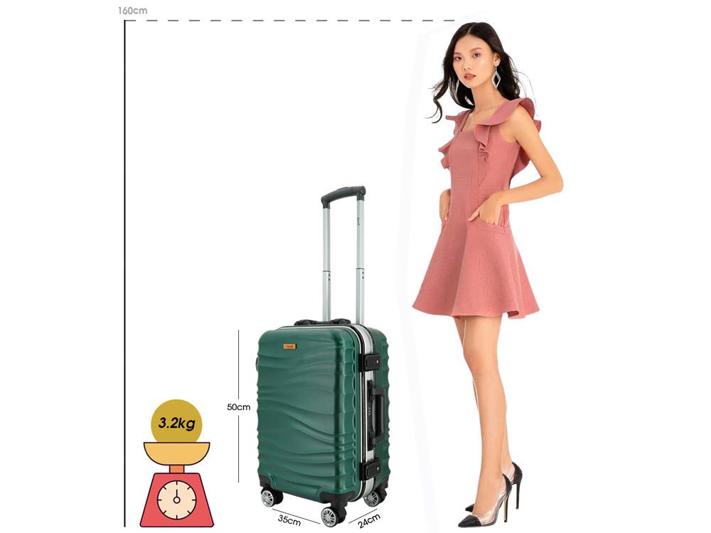 Kích thước và cân nặng vali 20 inch
