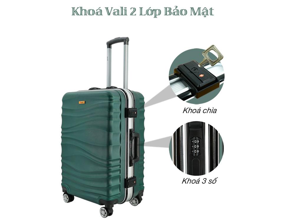 Khóa vali có tính bảo mật cao