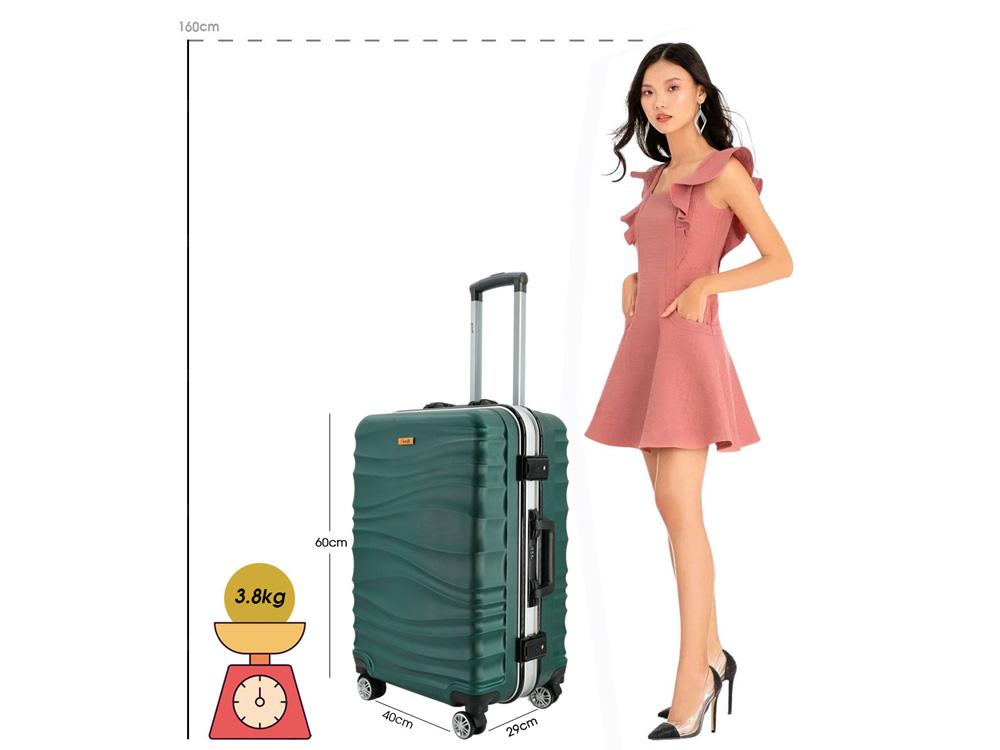 Kích thước của vali I'mmaX chính hãng