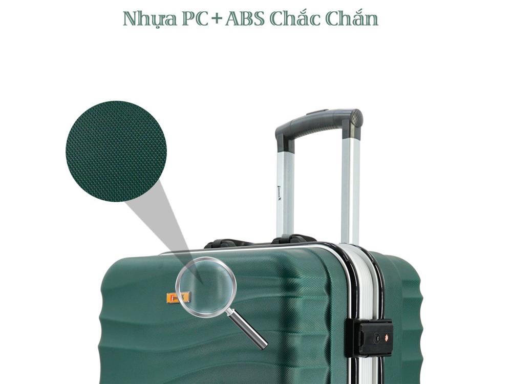 Chất liệu nhựa ABS bền đẹp, không bị gỉ sét