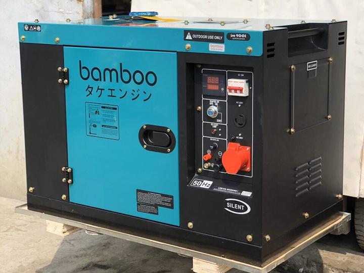 máy phát điện chạy dầu Bamboo