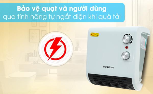Tự ngắt điện khi quá nhiệt