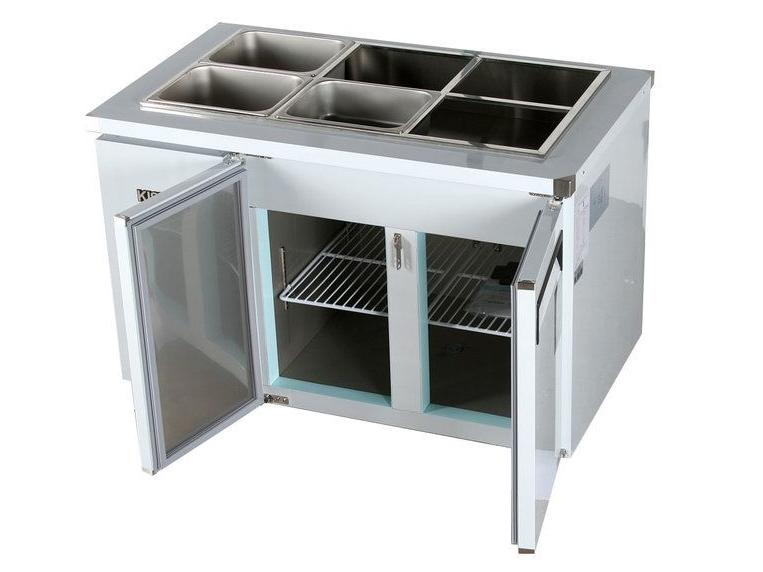 Tủ bàn lạnh có 2 cửa