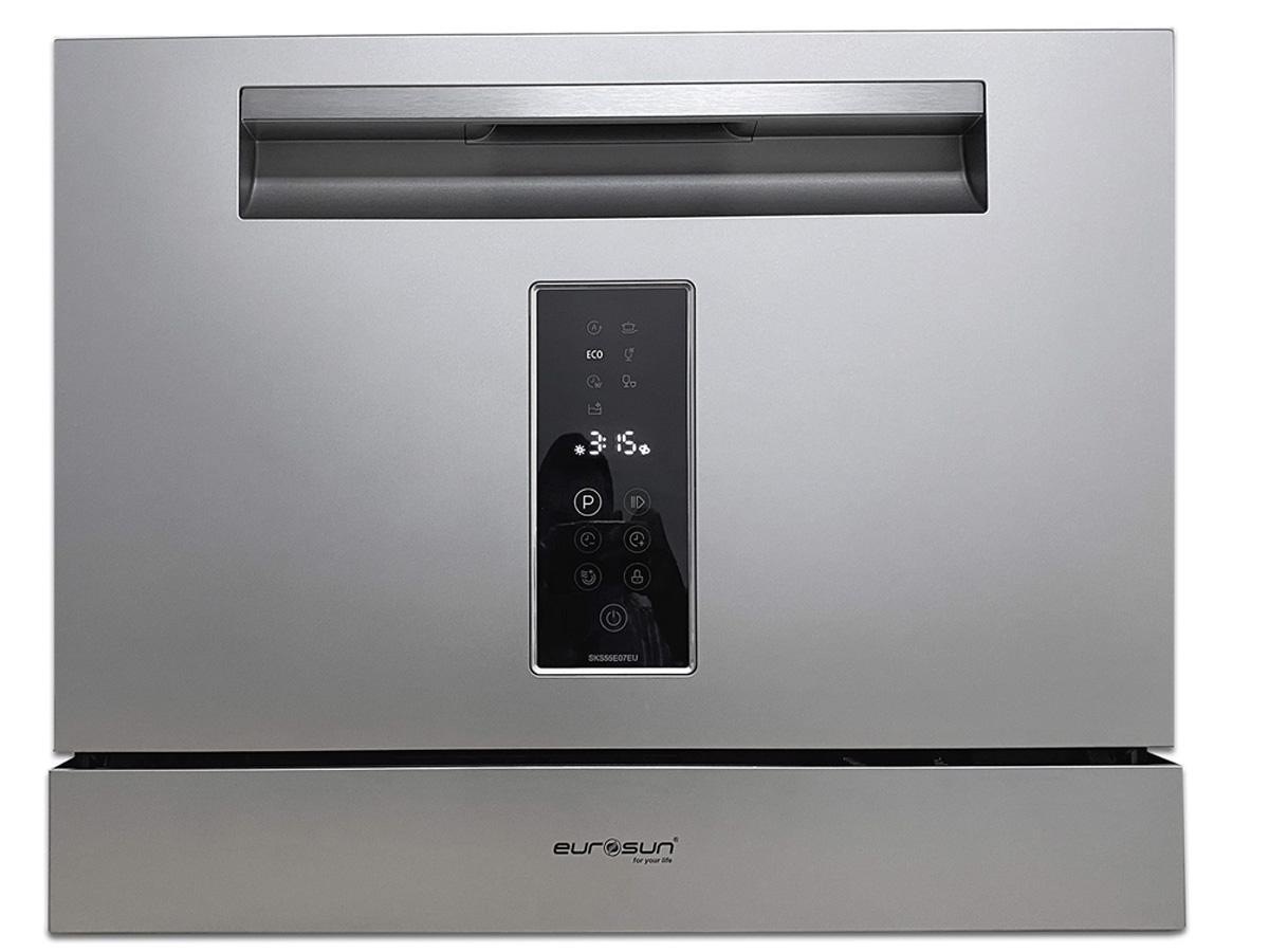 Thiết kế sang trọng của máy rửa bát để bàn Eurosun SKS55E07EU
