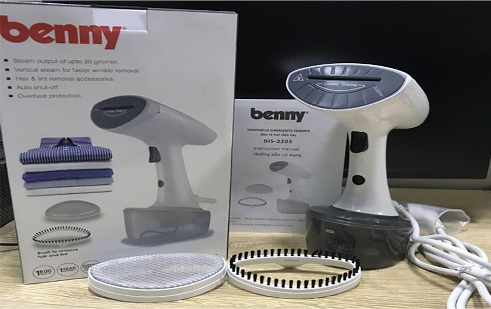 Bộ sản phẩm đầy đủ của máy là cầm tay Benny