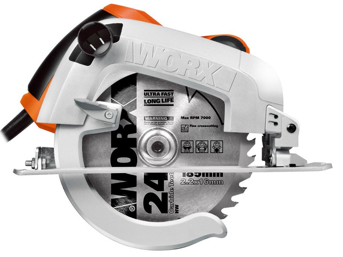 Hình ảnh  máy cưa đĩa 190mm 1600W Worx Orange WX445