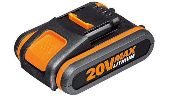 Hình ảnh pin Lithium 2.0Ah Worx Orange WA3551