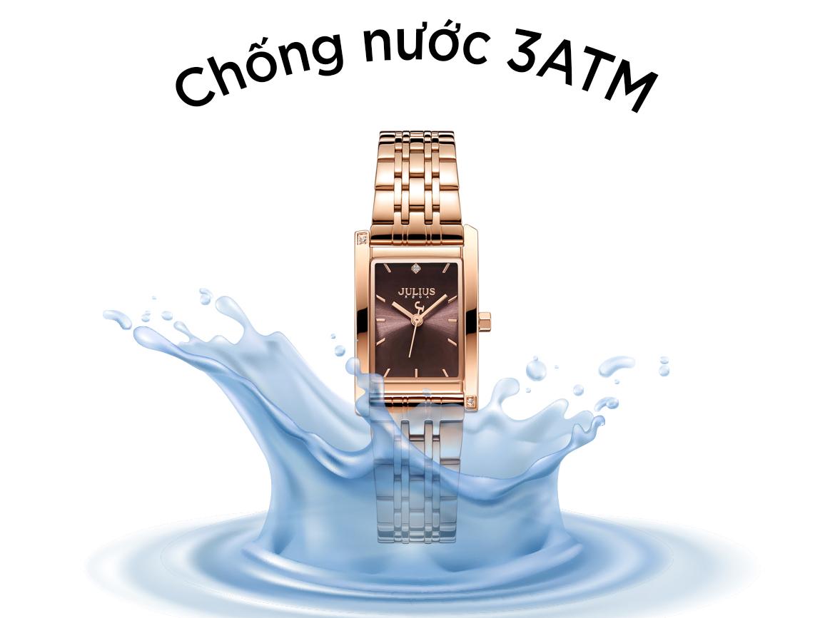 Đồng hồ có khả năng chống nước 3ATM