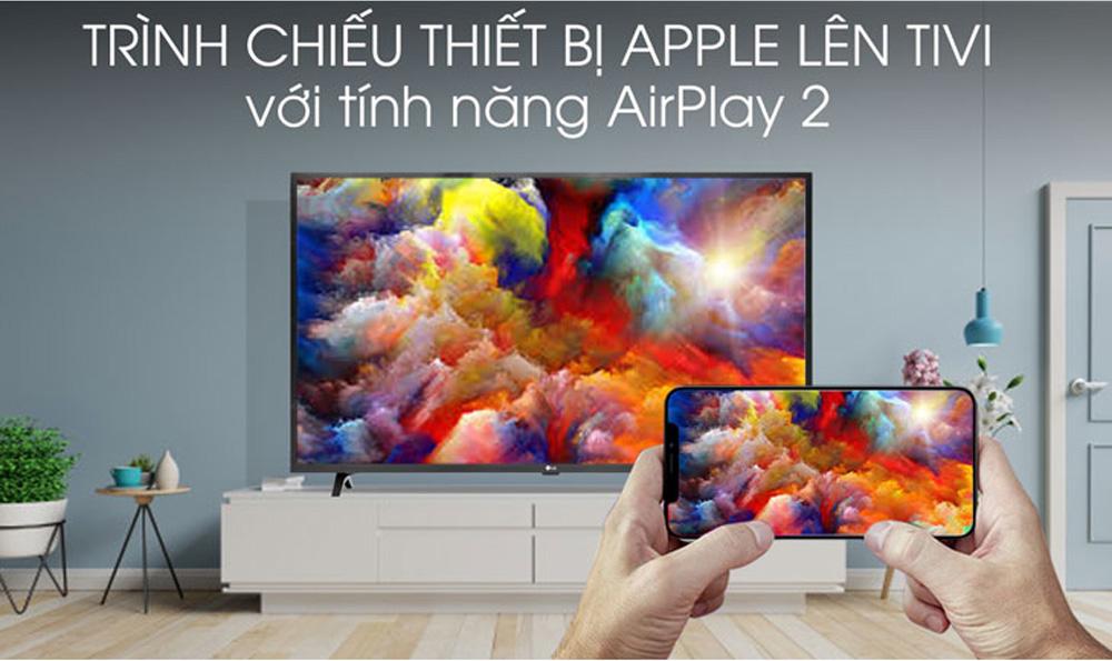 Trình chiếu thiết bị Apple lên tivi dễ dàng