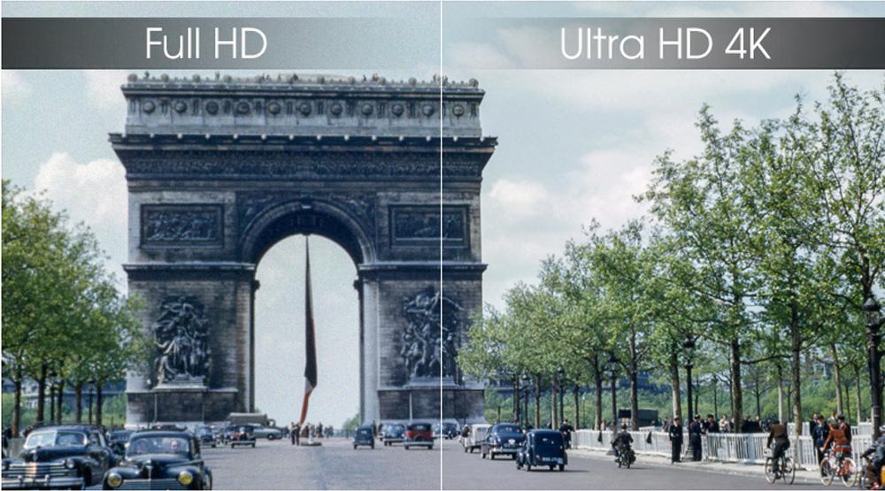 Chất lượng hình ảnh 4K siêu chất lượng