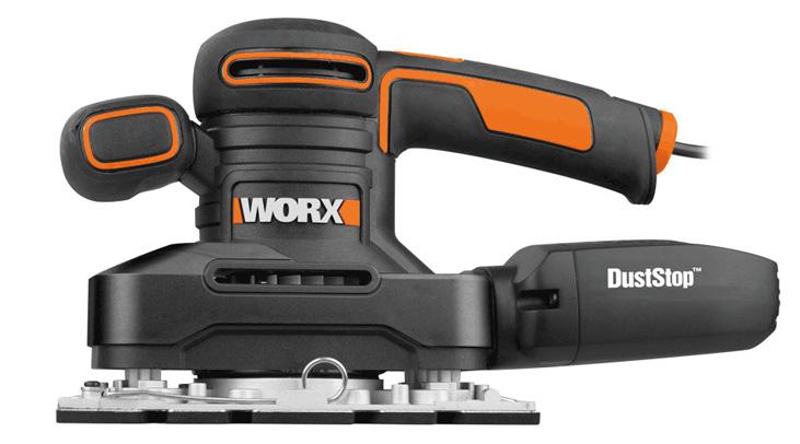 Hình ảnh máy chà nhám rung 250W Worx Orange WX641