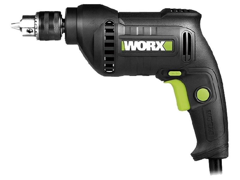 Thiết kế chắc chắn của máy khoan 380W 10mm Worx Green WU118.1