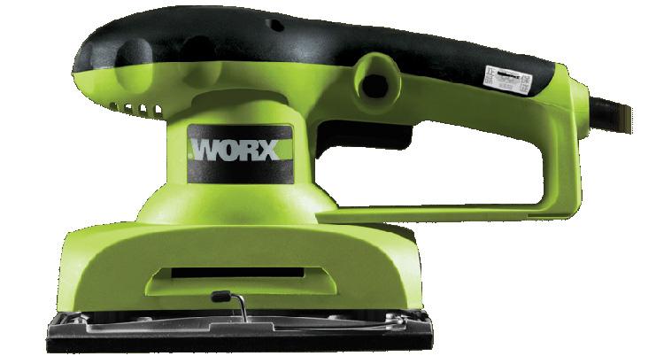Hình ảnh máy chà nhám rung 260W Worx Green WU639