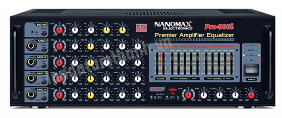Hình ảnh Amply karaoke nanomax Pro (900I/ 900IB)