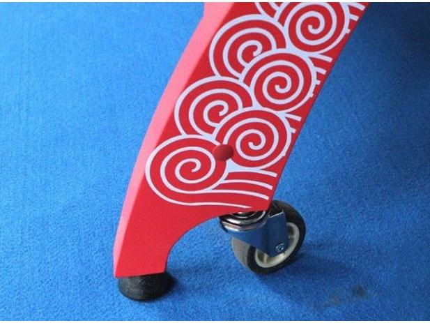 Chân bàn bóng bàn Double Fish Xiangyun X1 được bọc cao su chống trơn trượt