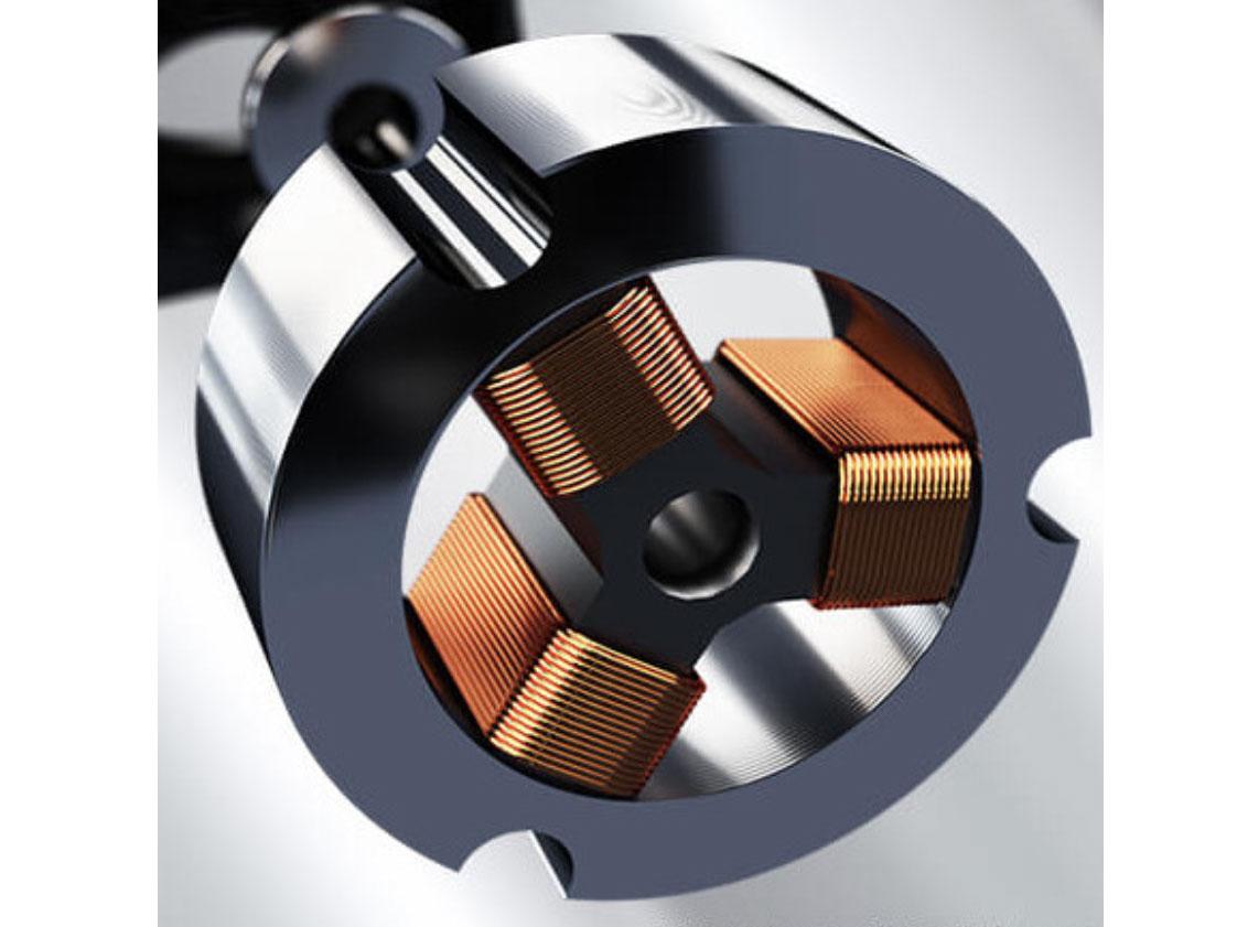 Động cơ được cuốn 100% dây đồng cho độ bền cao