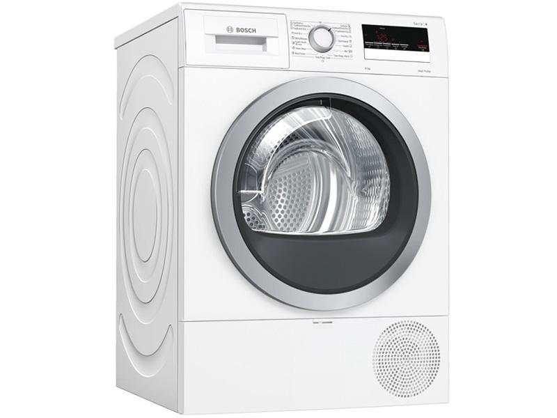 Máy sấy quần áo bơm nhiệt tụ hơi 8kg Bosch WTR85V00SG (Serie 4)