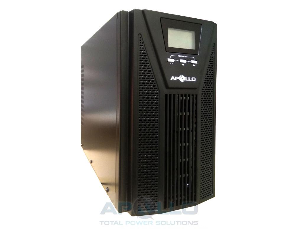 Bộ lưu điện online Apollo 3kVA 2700W AP903PS với thiết kế nhỏ gọn.