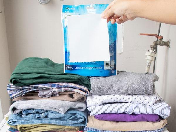 Giấy giặt quần áo