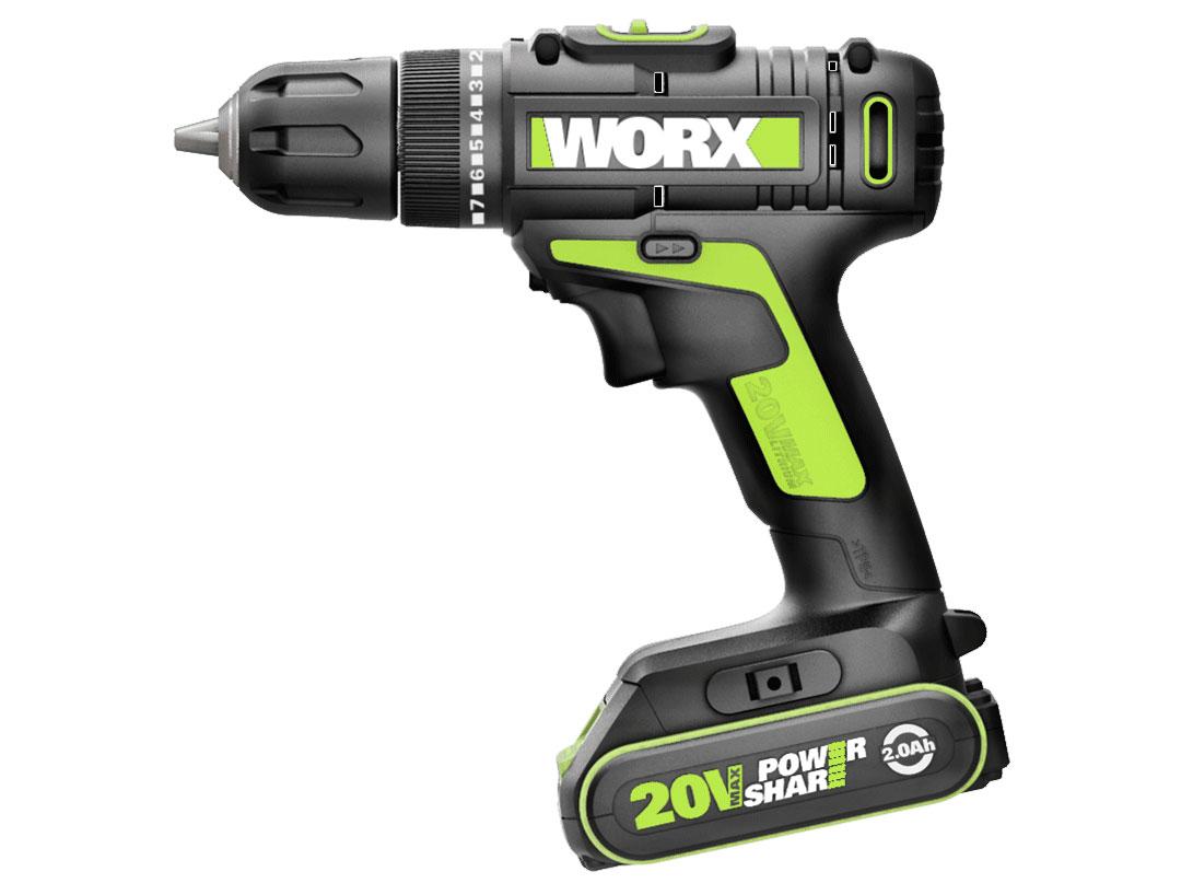 Máy khoan vặn vít Worx Green WU172