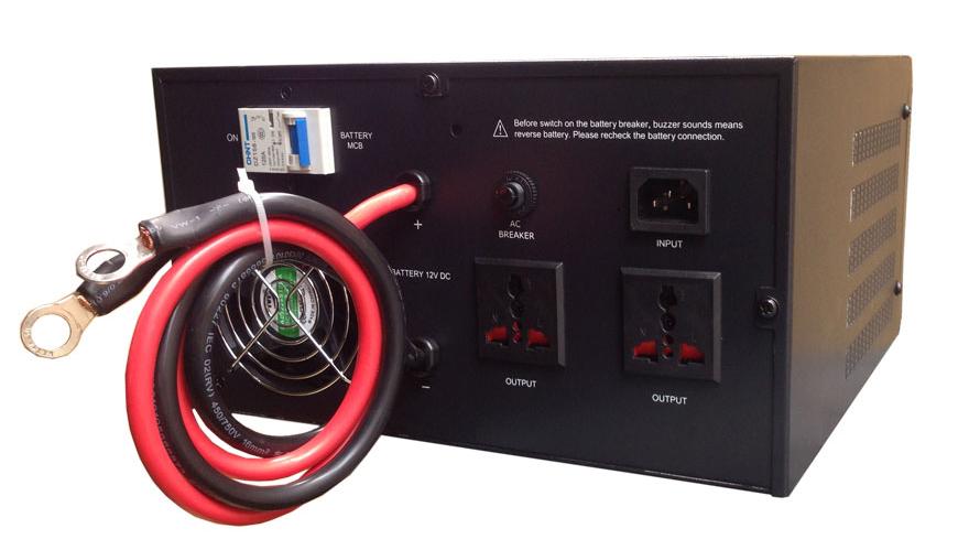 Bộ kích điện KC2500 phù hợp với nhu cầu sử dụng của gia đình
